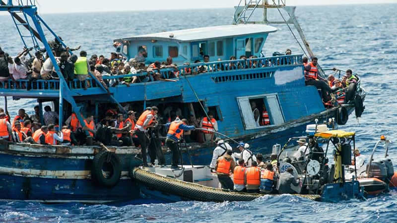 10 Dead After Boat Full Of Migrants