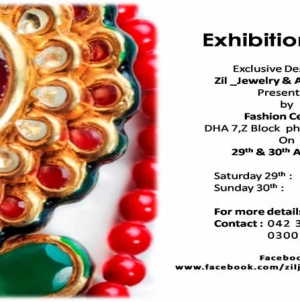 Exhibition 2015: Exclusive Designs of Zil Jewelry & Accessories Presenting by Fashion Central