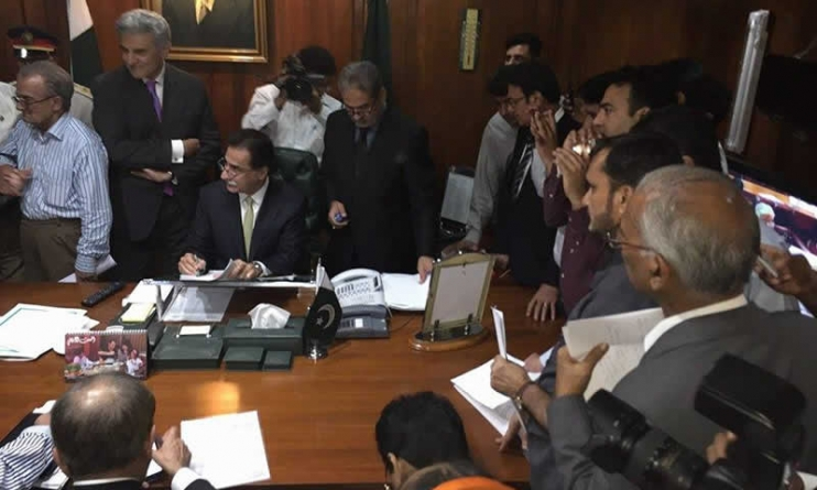 MQM's First Resignations from Senate