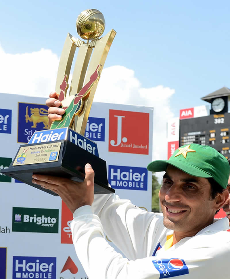 Misbah-ul-Haq Photos