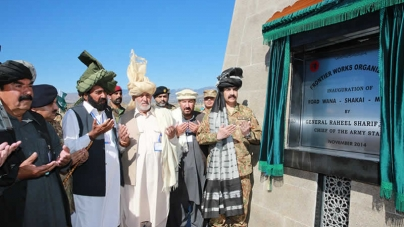 Army Chief Inaugurates Multiple Projects in Waziristan