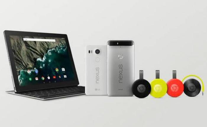 Google Nexus phones, new tablet