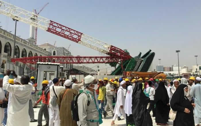 Saudi suspends Saudi Binladin Group over Makkah crane disaster