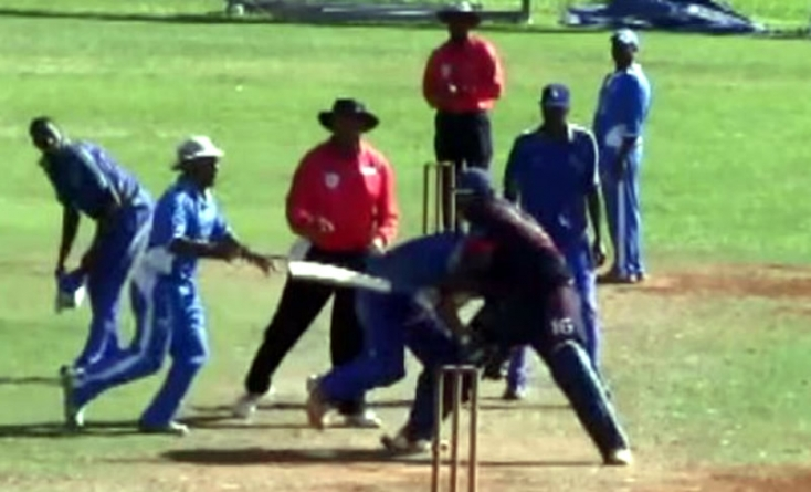 Ugly fight breaks out in Bermuda domestic cricket game