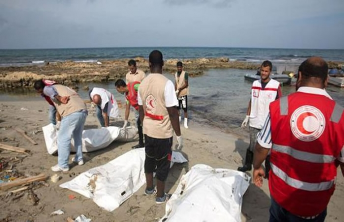 Bodies of 95 Migrants Found Washed Up in Libya