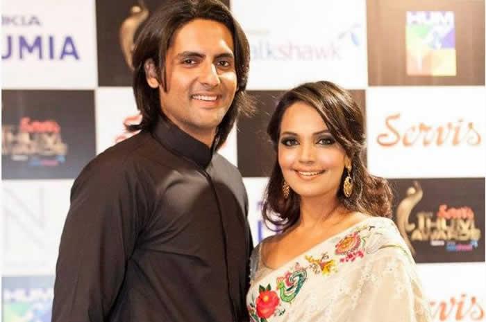 Aamina Sheikh and Mohib Mirza