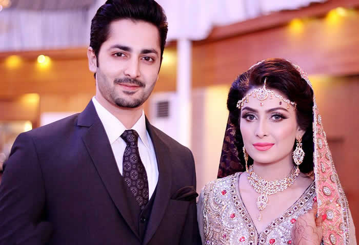 Ayeza Khan and Danish Taimoor