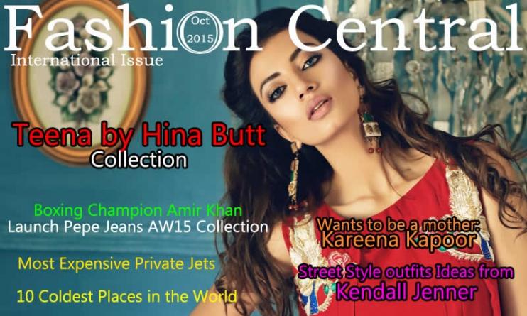 Fashion Central International October Magazine Issue 2015
