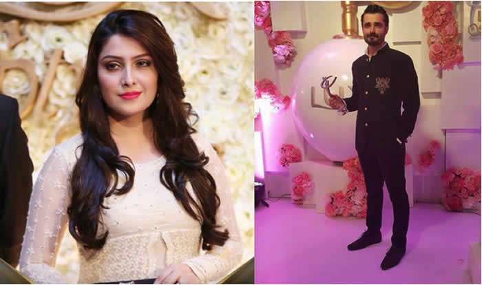 Hamza Ali Abbasi and Ayeza Khan