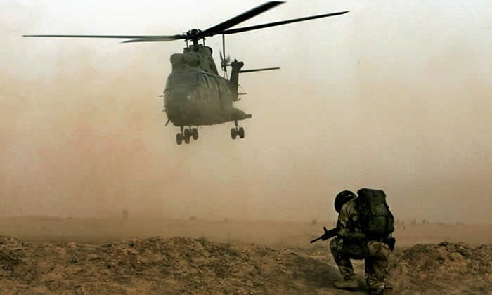 Helicopter Crash Kills Two Britons in Afghanistan