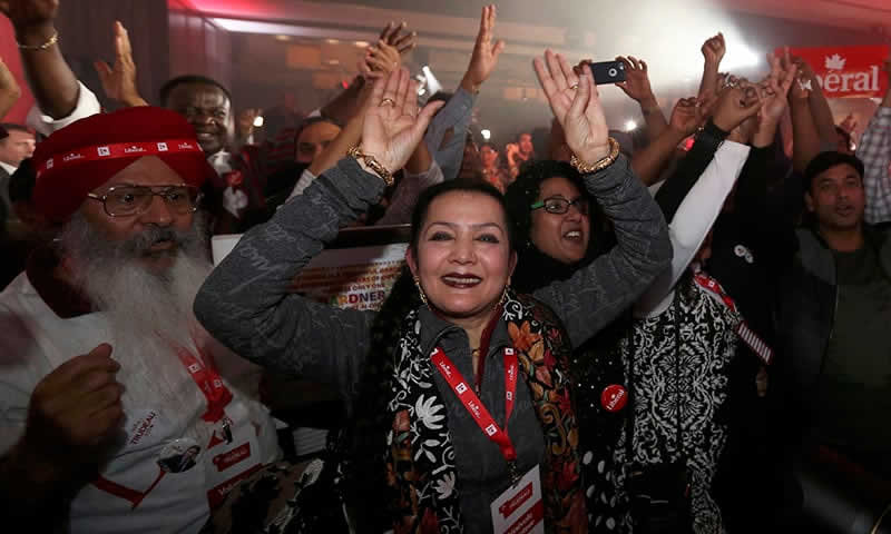 Liberals win Canadian election