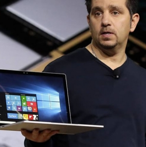 Microsoft Unveils First Laptop, Updated Devices Using Windows 10