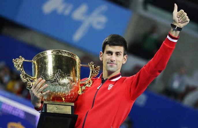 Novak Djokovic thrashes Rafael Nadal in China Open final
