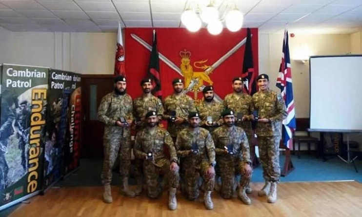 Pakistan Army wins gold in Exercise Cambrian Patrol held in UK