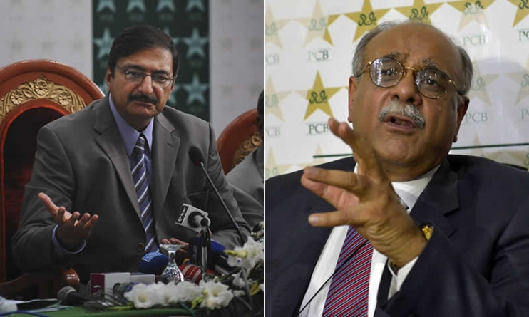 Zaka blames Sethi for current turmoil with India