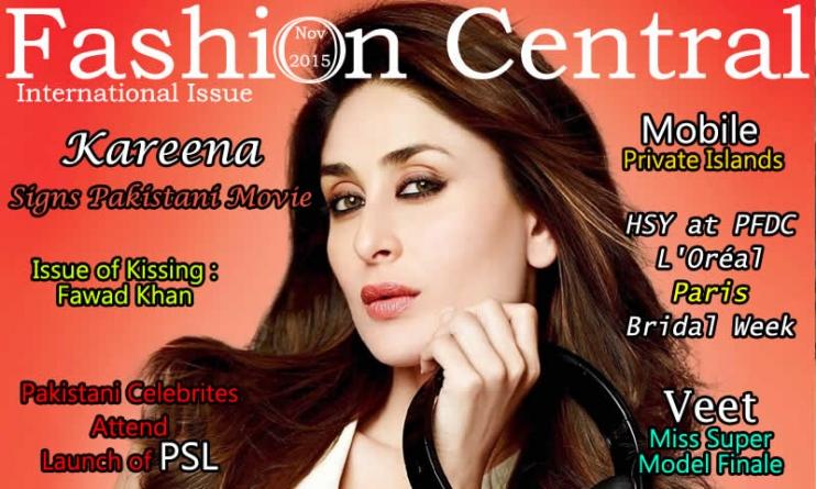 Fashion Central International November 2015 Issue Published