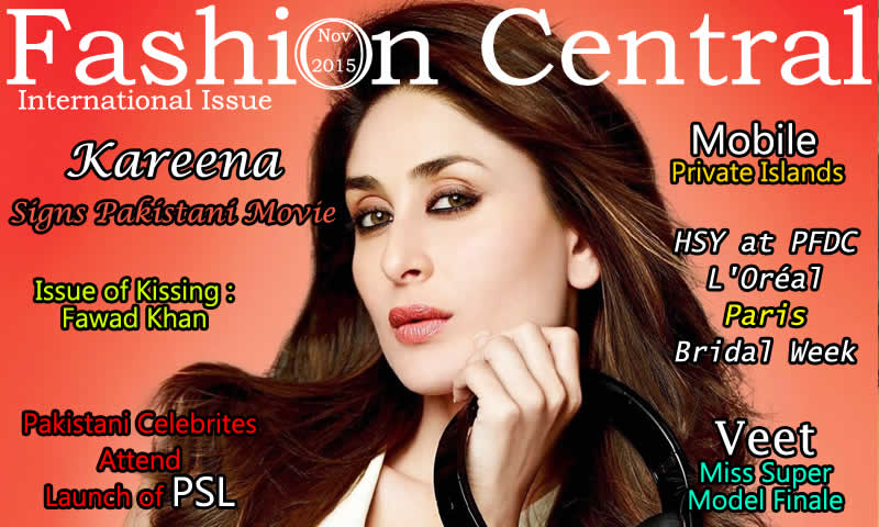 Fashion Central International November 2015 Issue Published