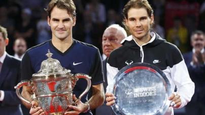 Federer Beats Nadal for Seventh Basel Title