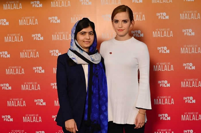 Watch Video: Emma Watson's Emotional, Engaging Interview With Malala Yousafzai