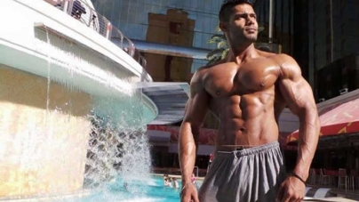 Pakistani bodybuilder wins Mr. Musclemania tournament