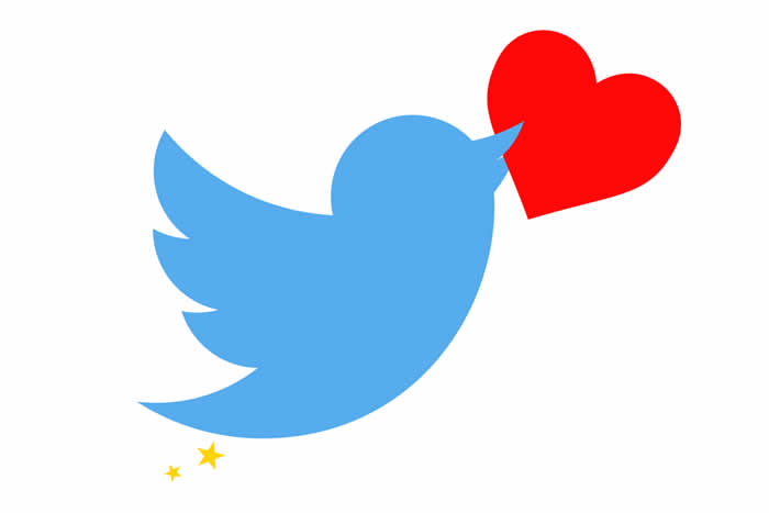 Twitter trades stars for hearts