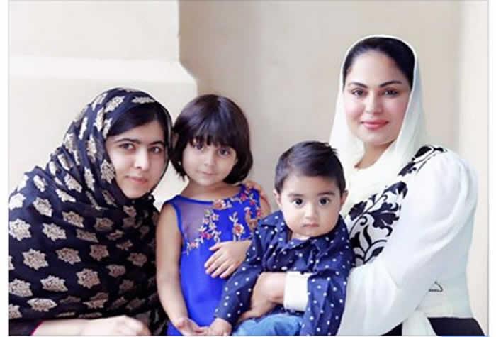 Veena meets Malala