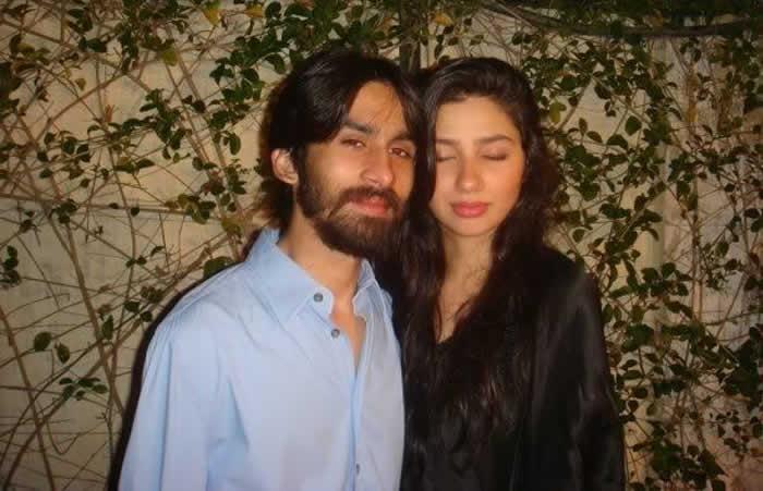 mahira khan With her husband