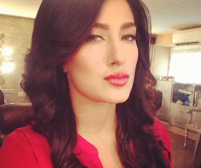 Mehwish Hayat Without Makeup