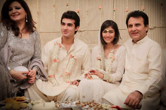 syra yousuf with her husband