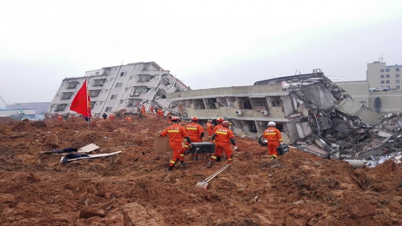 91 Missing As landslide Devastates Chinese Industrial Park