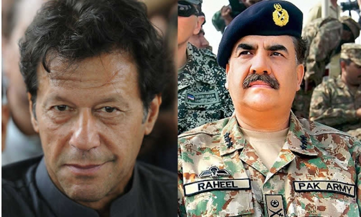 COAS Raheel Sharif is the Most Popular Figure in Pakistan: Imran