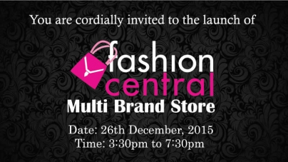 Fashion Central Multi Brand Store Now in DHA Lahore