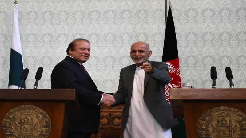 nawaz Sharif' Ashraf Ghani