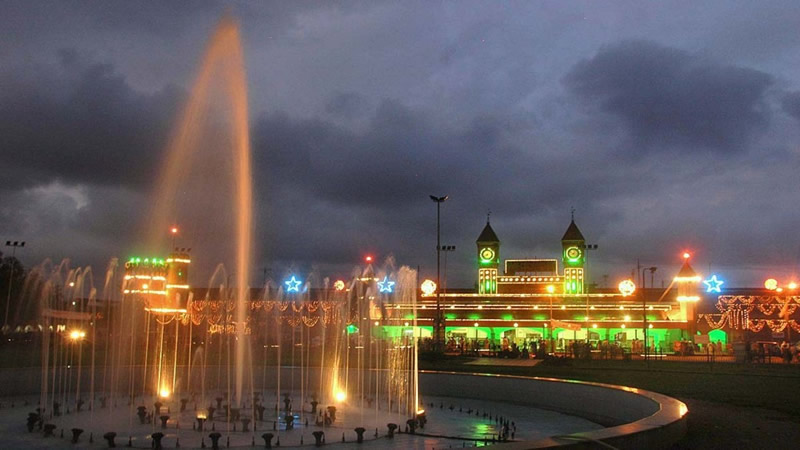 Lahore Railway Station Beautiful View, Pakistan
