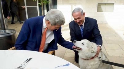 Netanyahu Family Dog Put in Quarantine after Biting Guests
