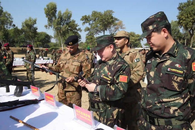 Pakistan-China joint military exercise 'YOUYI-5' begins