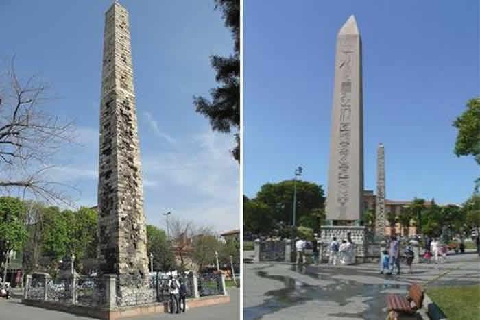 Walled Obelisk – Istanbul, Turkey