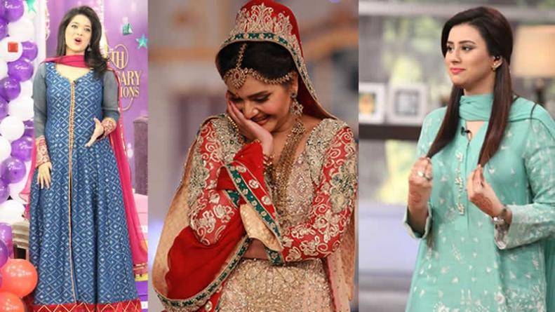 5 Pakistani Morning Shows Valued Dresses of Hosts