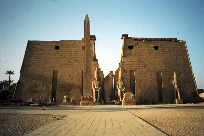 Temple of Re-Atum Obelisk – Egypt