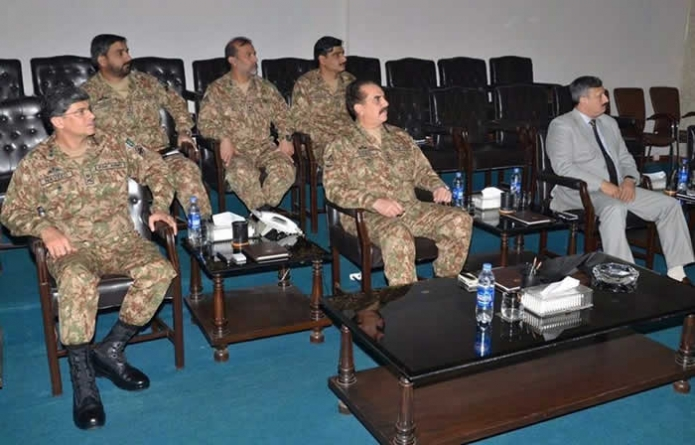 Army to go all out for peace in Karachi