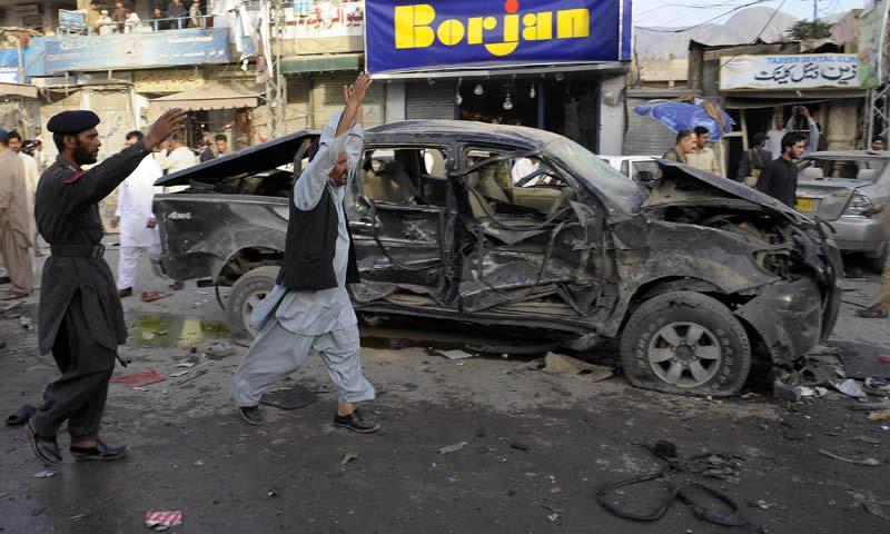 blast near Quetta polio centre