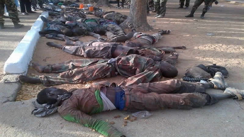 Boko Haram massacres in Nigeria