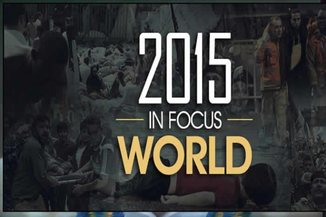 2015's Top 10 Major Stories of the World