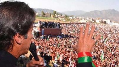 Imran accuses Zardari, Sharif of election rigging