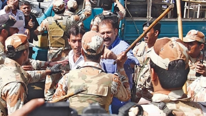 PIA protests draw blood as workers take on police, Rangers