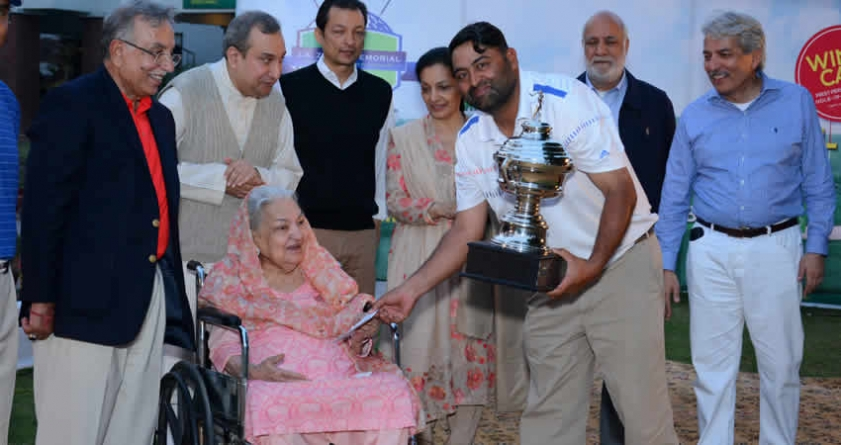 Shabbir wins 3rd J.A.Zaman Memorial Golf Title for 2016
