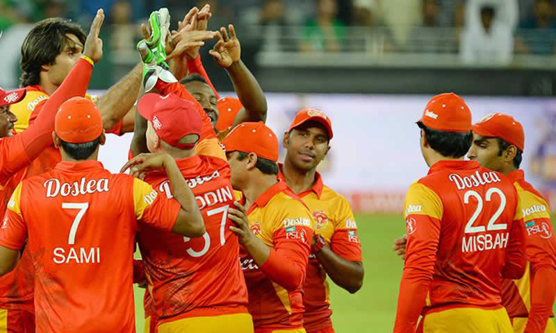 Islamabad United to Pakistan Super League title