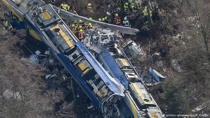 Bavaria train crash
