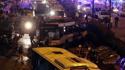 Car Bombing Leaves 34 Dead In Ankara