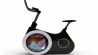 Chinese Designers Develop Bike Washing Machine
